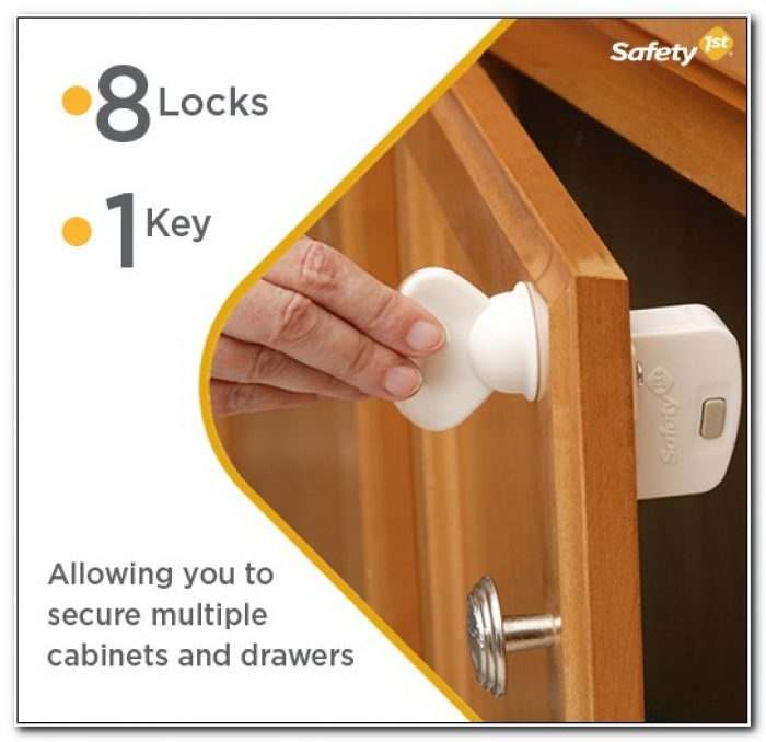 Magnetic Safety Locks For Cabinets