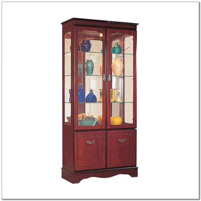 Mahogany Display Cabinets Glass Doors
