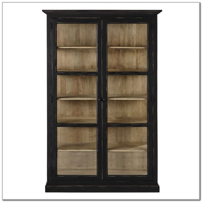 Mango Wood Display Cabinet