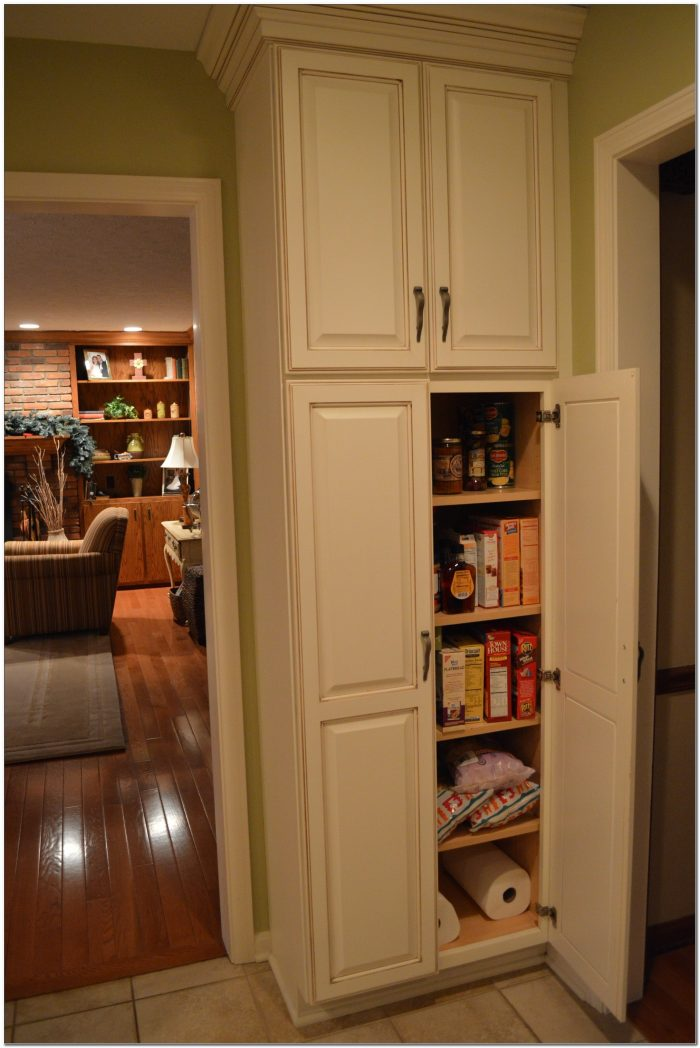 Maple Kitchen Pantry Cabinet