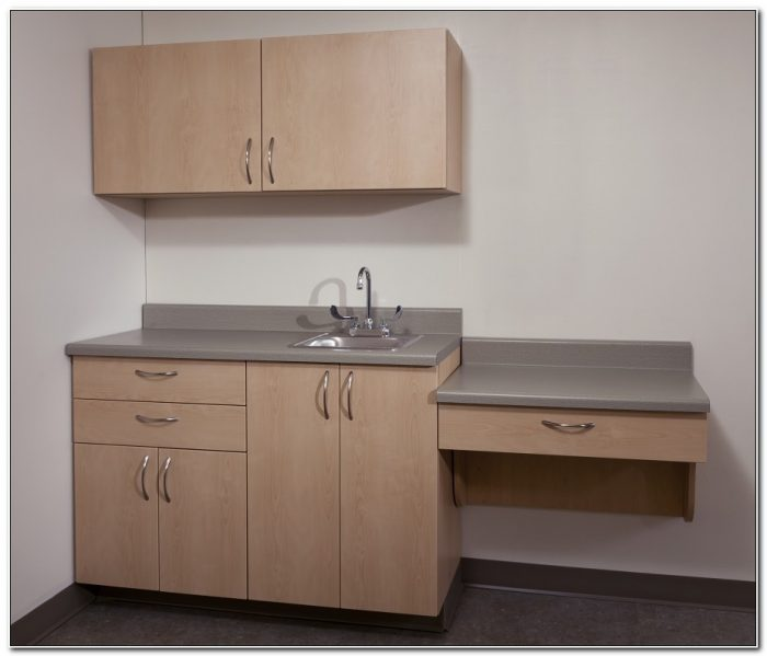 Medical Exam Room Cabinets With Sink