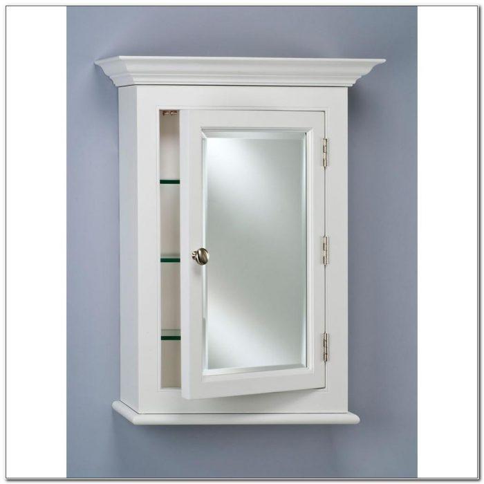 Medicine Cabinet Surface Mount White