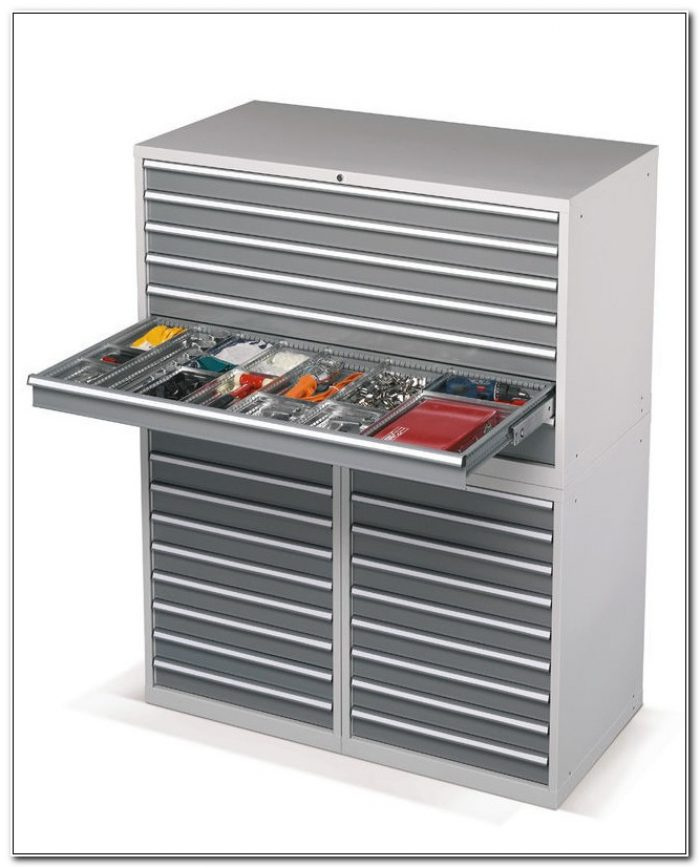 Metal Multi Drawer Storage Cabinet