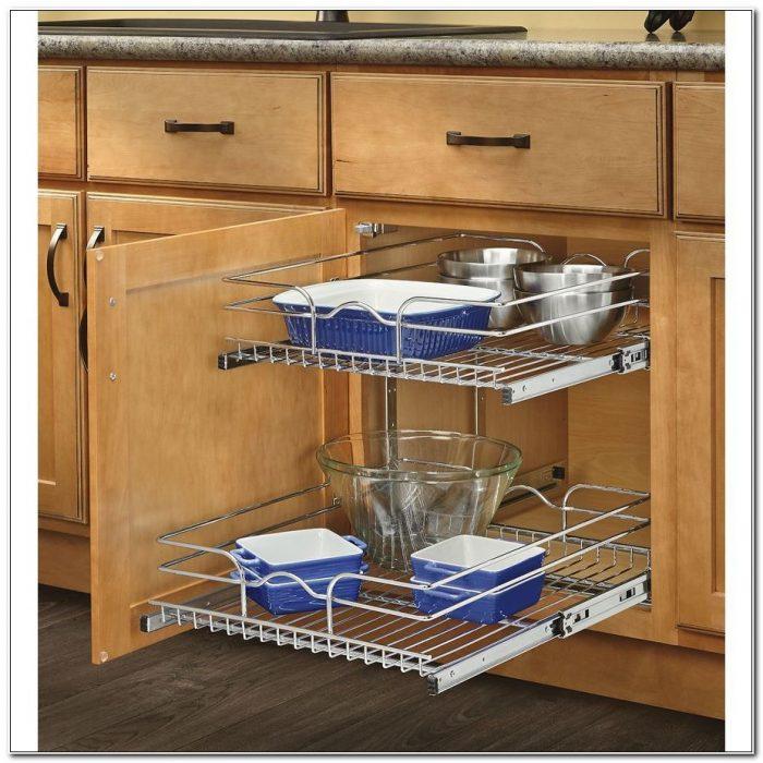 Metal Sliding Shelves For Kitchen Cabinets