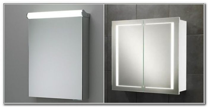 Mirror Cabinets With Lights