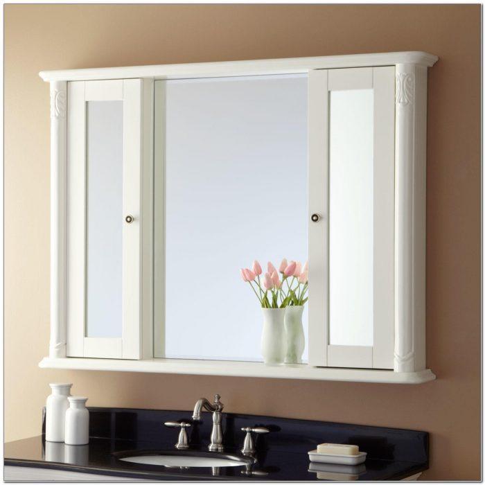 Mirrored Medicine Cabinet Surface Mount