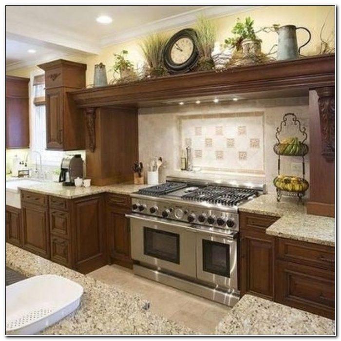Modern Above Kitchen Cabinet Decor