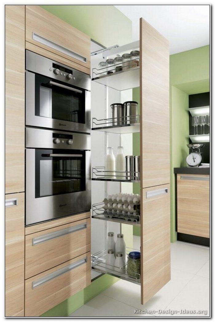 Modern Kitchen Pantry Cabinet