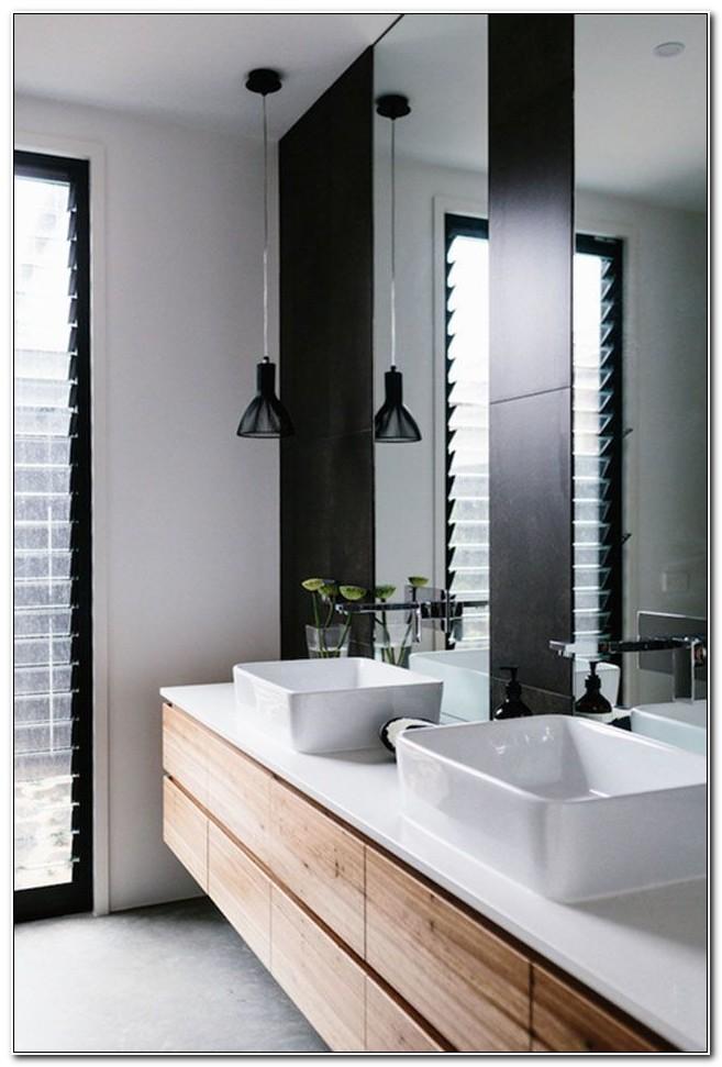 Modern White Bathroom Vanity Ideas
