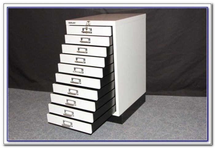 Multi Drawer Filing Cabinet Used