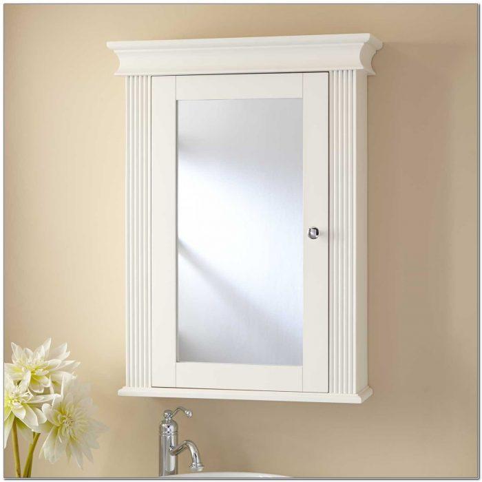 Non Mirrored Recessed Medicine Cabinets