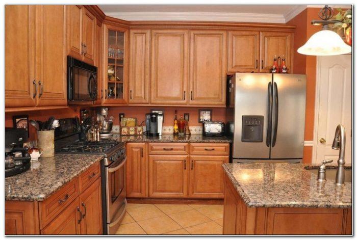 Oak Cabinets With Granite Countertops