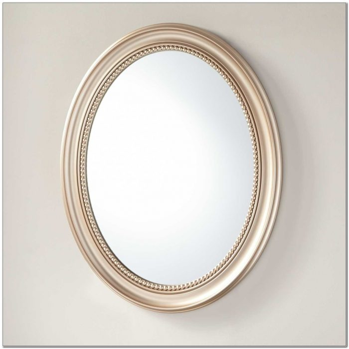 Oval Recessed Medicine Cabinets With Mirrors