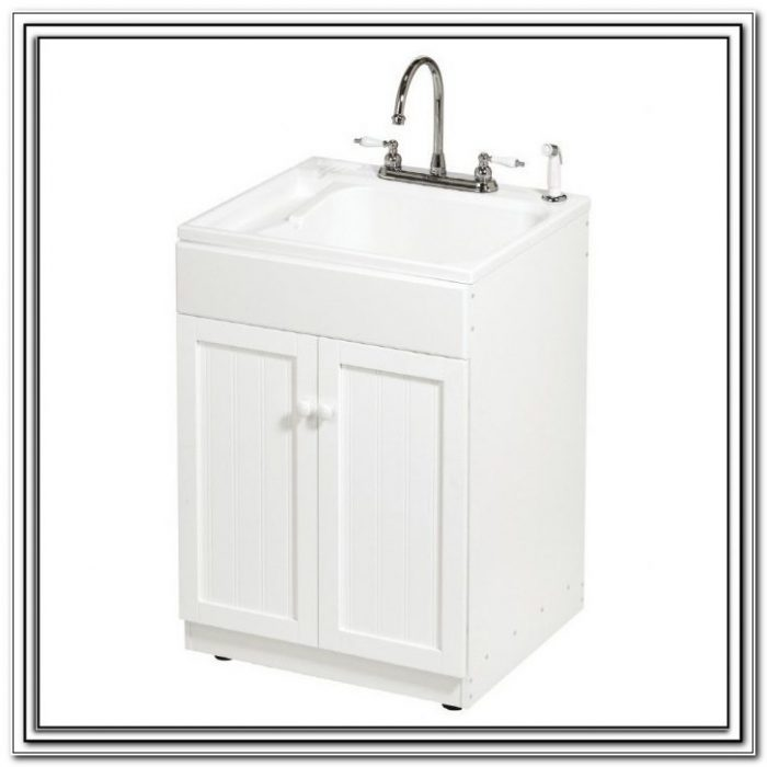 Ove Utility Cabinet With Acrylic Sink