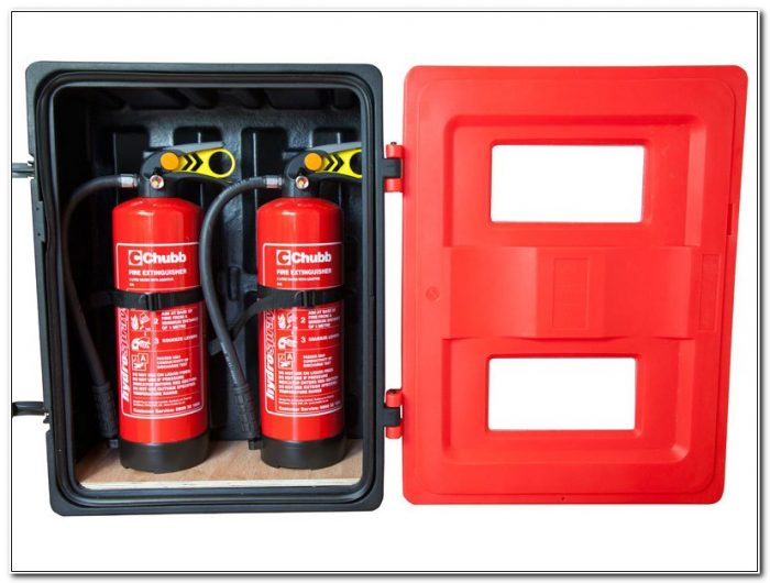 Plastic Fire Extinguisher Box