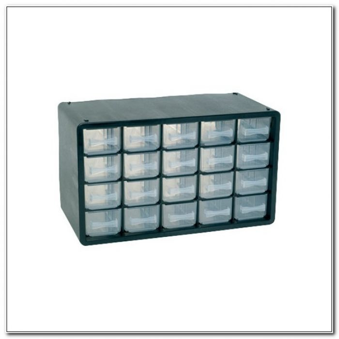 Plastic Storage Cabinet 20 Drawer
