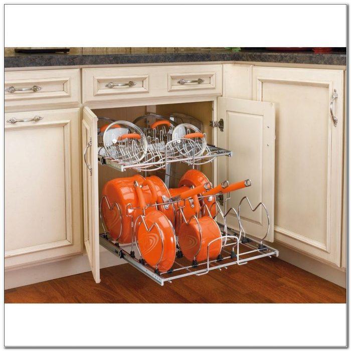 Pot And Pan Cabinet Organizer Home Depot