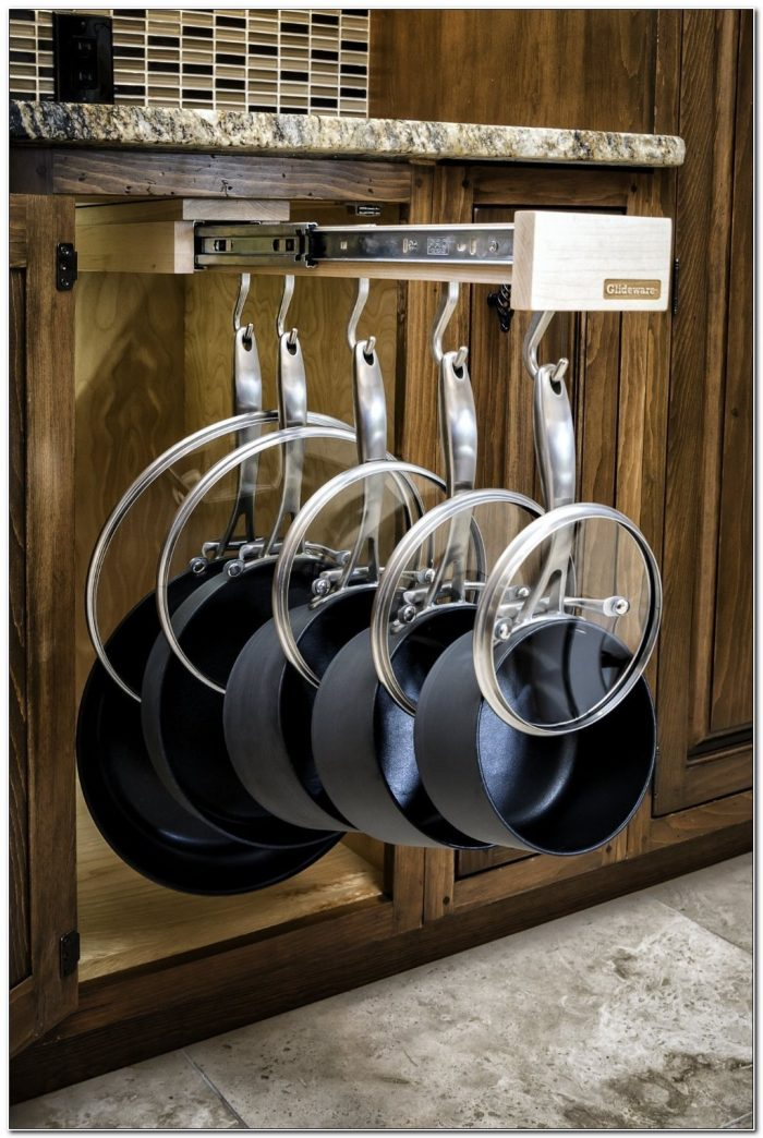 Pots And Pans Cabinet Organizer
