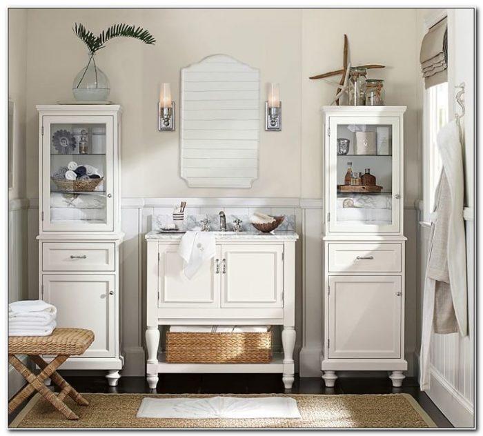 Pottery Barn Bathroom Cabinets