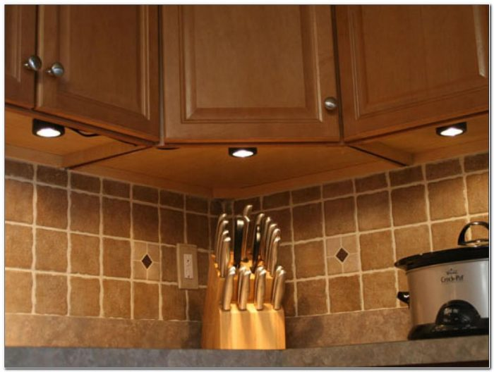 Puck Style Under Cabinet Lighting