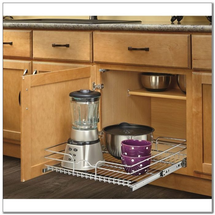 Pull Out Cabinet Basket