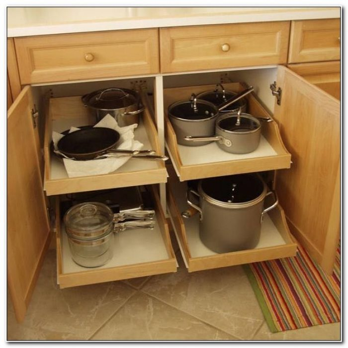 Pull Out Drawers For Existing Cabinets