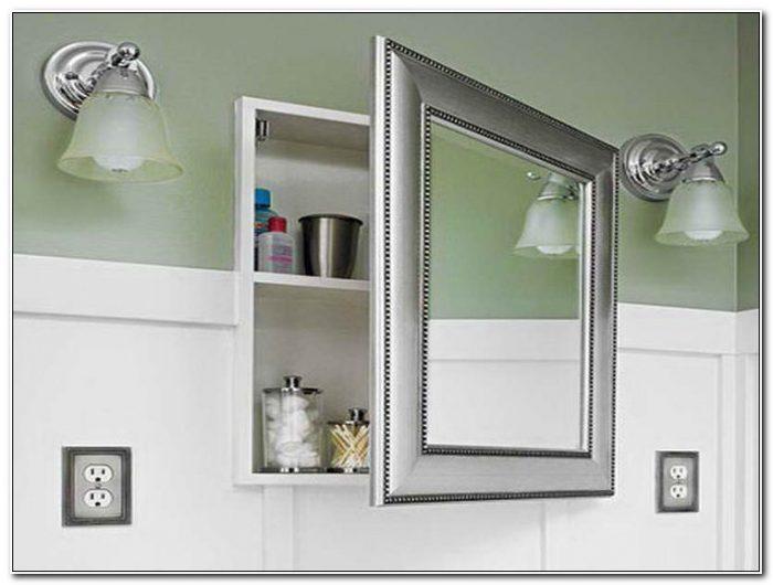 Recessed Bath Medicine Cabinets