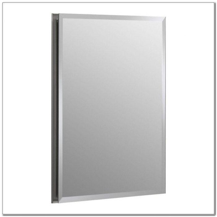 Recessed Medicine Cabinet With Mirror