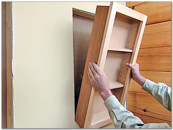 Recessed Wood Medicine Cabinet Plans
