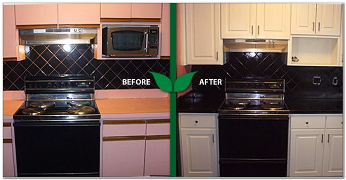 Refinishing Formica Kitchen Cabinets