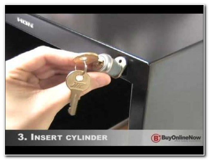 Replace Metal Filing Cabinet Lock
