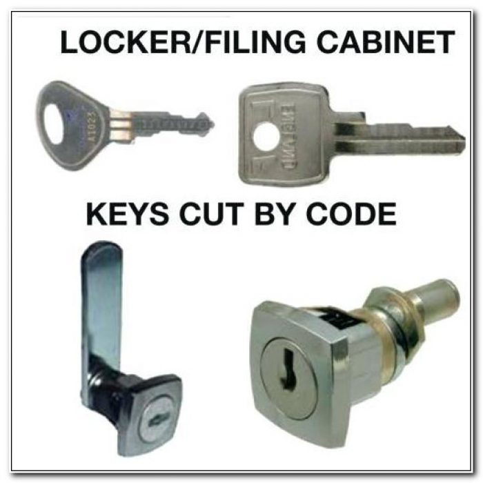 Replacement Key File Cabinet Lock