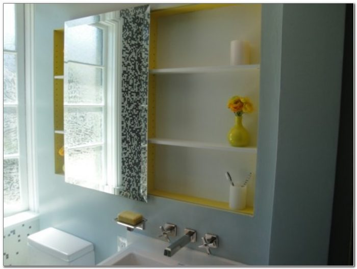 Replacement Sliding Mirror For Medicine Cabinet