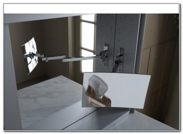 Robern Magnifying Mirror Medicine Cabinet