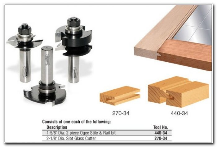 Router Bits For Glass Cabinet Doors
