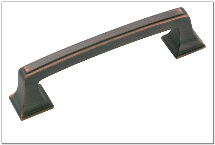 Rubbed Bronze Drawer Pulls
