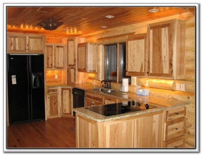 Rustic Hickory Rta Kitchen Cabinets
