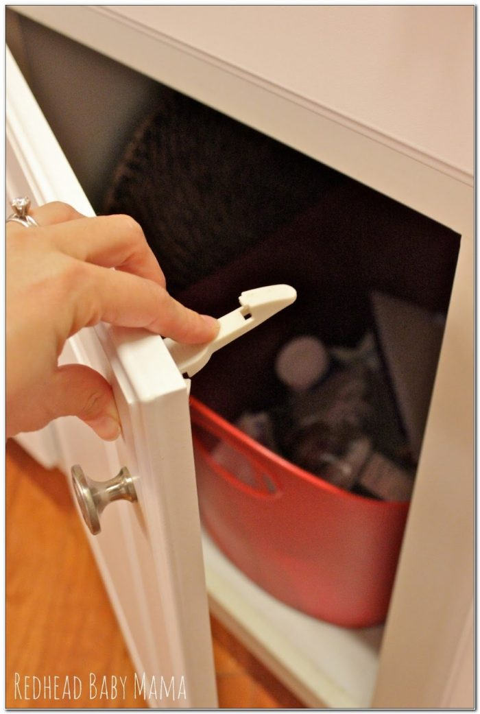 Safety Latches For Cabinets And Drawers