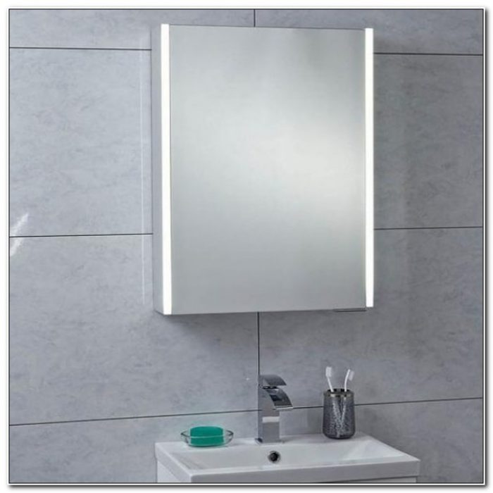 Saturn Led Illuminated Bathroom Mirror Cabinet