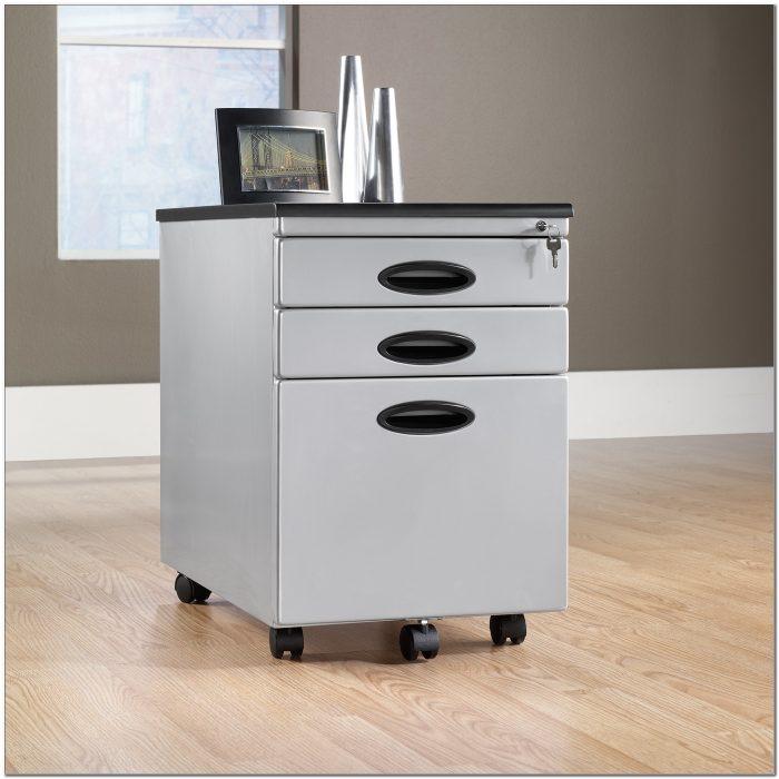 Sauder 3 Drawer Mobile File Cabinet