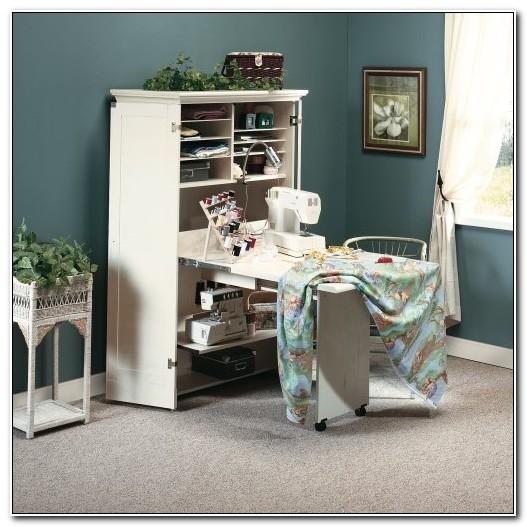 Sewing Machine Cabinet Storage Armoire