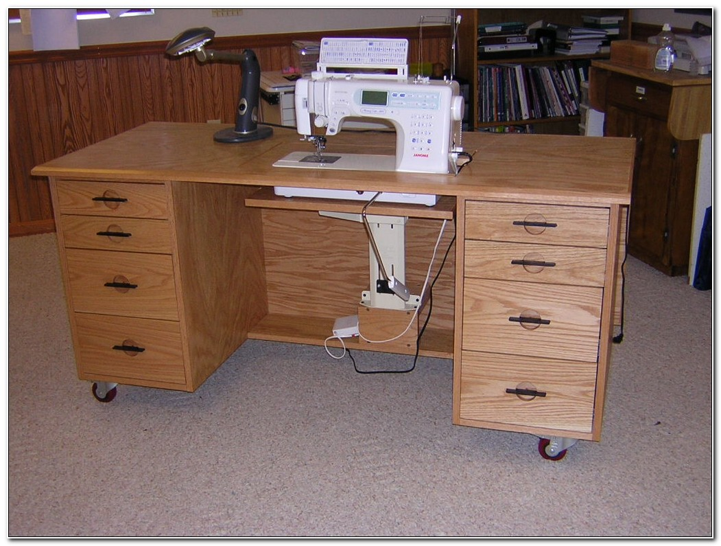 Sewing Machine Cabinets Tables