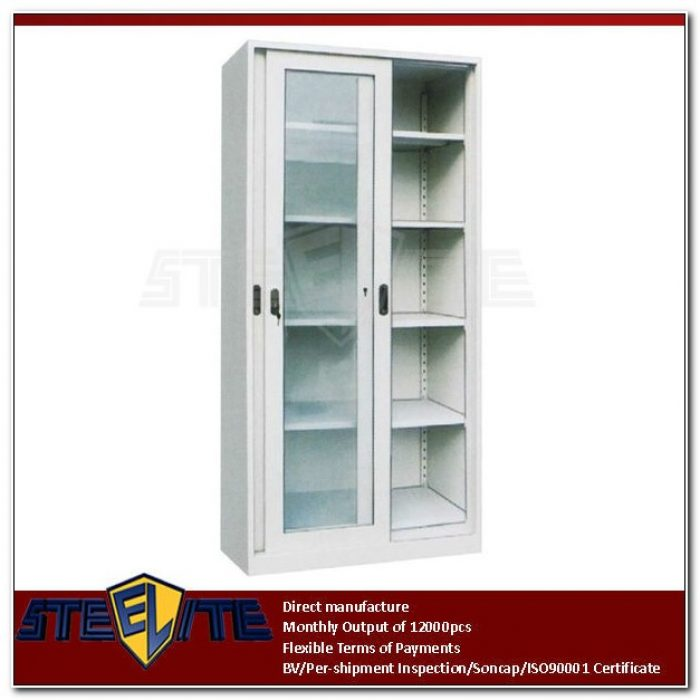 Shallow Cabinet With Sliding Doors