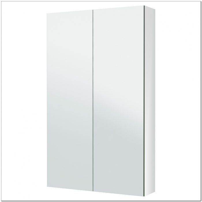 Shallow Wall Cabinet With Doors