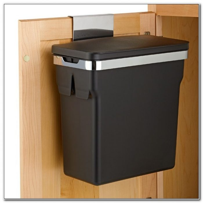 Simplehuman In Cabinet Trash Can