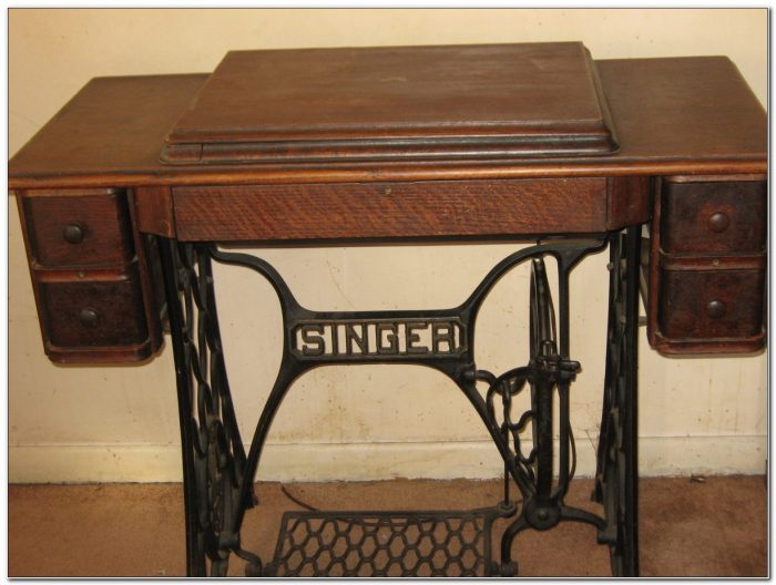 Singer Sewing Machine Cabinets And Tables
