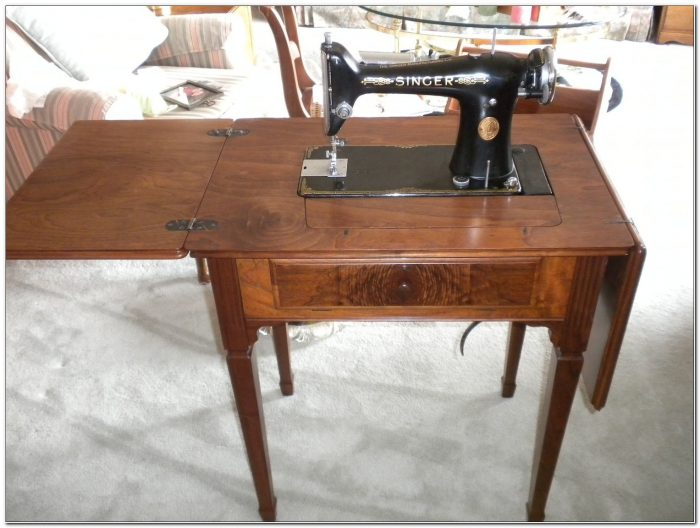 Singer Sewing Machines In Cabinets