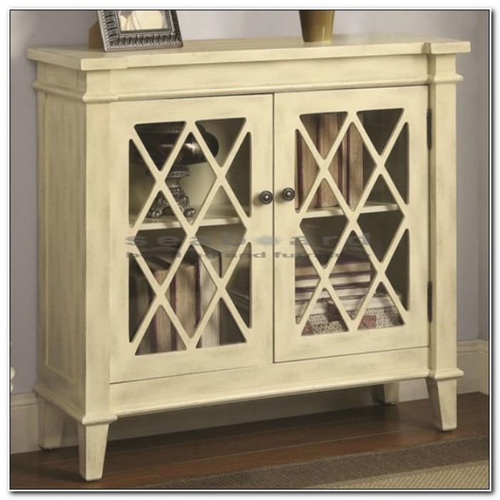 Small Accent Cabinet With Doors
