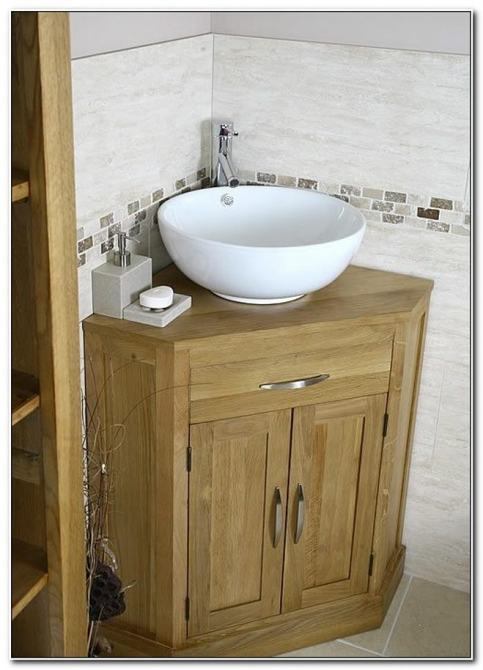 Small Bathroom Corner Vanity Ideas