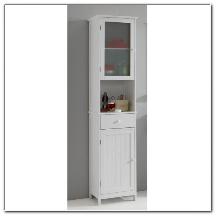 Small Free Standing Bathroom Storage Units